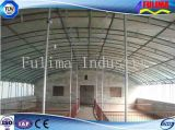 Chambre préfabriquée de bétail de structure métallique pour la ferme (FLM-F-017)