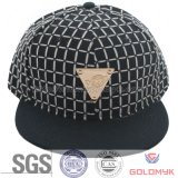 Metal Logo Labelの綿Snapback Cap
