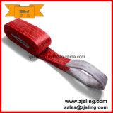 imbracatura piana della tessitura del poliestere di 3t X 4m (può essere personalizzato)