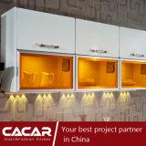 De oranje Keukenkast van de Lak van de Vernis van het Stoven van het Huis van het Suikergoed Moderne (caik-01)