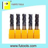 Carbide 2/4 van het wolfram de Snijder van het Malen van het Schuim van Fluiten
