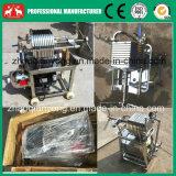 Máquina inoxidable de la prensa de filtro de petróleo de la placa