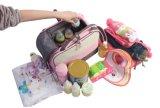 Dessin animé modelant le sac extérieur changeant de couche-culotte de bébé de course de Multifuctional de garniture