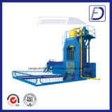 Découpage hydraulique de feuille inoxidable de rebut réutilisant la machine