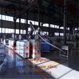 PVC 3つの層の泡のボードの機械装置PVCボードの共押出し機械3つの層の泡のボード機械