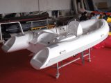4.2m 13.8FT Rib420c Recsue Boat com Hypalon Fiberglass Hull Rigid Inflatable Boat Venda quente