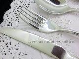 Couverts de vaisselle de vaisselle plate d'acier inoxydable de qualité
