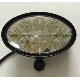 "luz oval del alimentador del CREE 12V-24V 6 "" 40W LED"