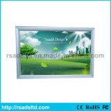 Aluminium LED Slim Light Box Frame pour exposition