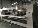 Máquina de costura semiautomática de la caja de cartón de la Doble-Pista