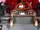 3 Axles прямой луча стенки трейлер Semi с высокой колонкой