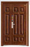 Porte en acier de jardin de porte de chambre à coucher de porte de qualité (Fd-529)