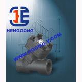 API/DIN schmiedete geschweißtes Kugel-Hochdruckventil des Stahl-A105