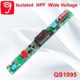 fonte de alimentação larga isolada 5-12W QS1095 da luz da câmara de ar de Hpf Voitage