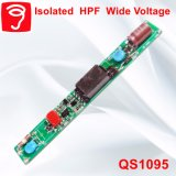 5-12Wによって隔離されるHpf広いVoitageの管ライト電源QS1095