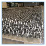 Netwerk van de Draad van de hoogste Kwaliteit het Roestvrij staal Geplooide/de Geweven Vervaardiging van het Netwerk van de Draad (de Verkoop van de Fabriek)