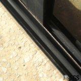 Gute Qualitätspuder-überzogener gerundeter Verschluss-schiebendes Aluminiumfenster K01024