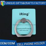 Soporte pegajoso del sostenedor del metal del sostenedor del teléfono móvil del anillo del metal
