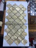 할인 싼 유리제 대리석 자연적인 돌 모자이크 바닥 목욕탕 도와 공급