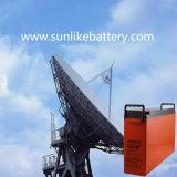 커뮤니케이션을%s 태양 에너지 통신 정면 끝 건전지 12V200ah