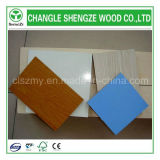 Color 단단한 Wood Grain Color 4X8FT Melamine Faced MDF