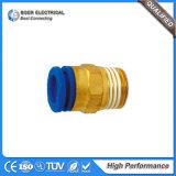 Ajustage de précision pneumatique d'adaptateur de tuyaux d'air de haute performance