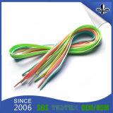 Шнурок выдвиженческого полиэфира способа подарков цветастого плоский для оптовой продажи