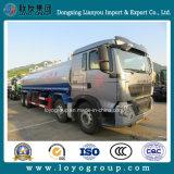 HOWO T5g 8X4 석유 탱크 트럭, 판매를 위한 유조선