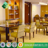 Moderner einfacher Art-Gewebe-Lehnsessel verwendet auf Hotel-Wohnzimmer