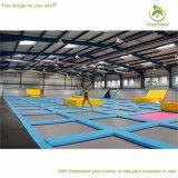Nueva gimnasia de interior grande modificada para requisitos particulares de la diversión del trampolín para la venta