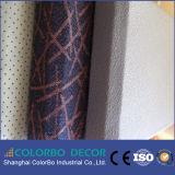 Panneau de mur acoustique d'intégration de tissu ignifuge parfait de tissu