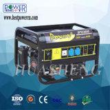 Générateur portatif électrique d'essence monophasé à C.A. de Spg6500 5kw