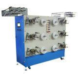 Máquina de enrollamiento automática de 6 de los carretes cintas del satén para el embalaje
