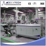 Double usine de pipe de la vis Extruder/PVC