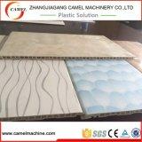 새로운 PVC WPC 벽면 밀어남 선