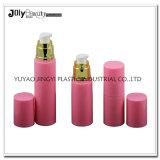 プラスチック中国の工場贅沢なピンクの空の装飾的なびんおよび瓶