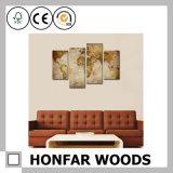 Frameless Wand-Kunst-Dekoration-Farbanstrich für Hotel-Vorhalle-Dekoration