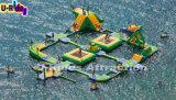 FWPK--003販売のために浮かぶ膨脹可能な浮遊物水公園の膨脹可能な海