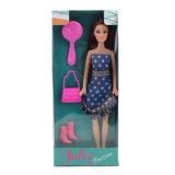 11.5 Zoll-Form-Puppe-Mädchen-Spielzeug mit Fußleiste u. Zubehör für Kinder