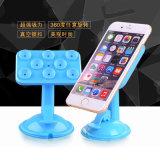 Universal 360 grados de la succión de taza del sostenedor de corchete del soporte para el teléfono celular