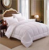 Вниз перо заполняя White Одеяло для пользы дома и гостиницы