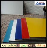 Panneau de mur en aluminium d'ACP de matière composite