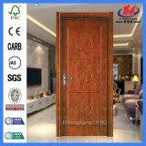 Нутряная деревянная мембрана сползая дверь PVC (JHK-P08)