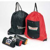 Sacs pliables de sac à dos de pochette de cordon (Bp012)