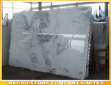 Shanshuiの卸し売り白い大理石の平板およびタイル