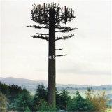 세포 탑에 의하여 가장되는 인공적인 위장된 Monopine 나무 탑