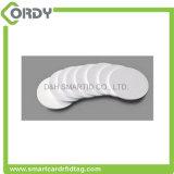 125kHz EM4100 RFID Etiquetas de disco de PVC tarjeta de etiqueta de moneda de plástico