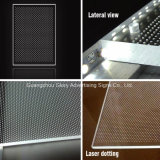 LED Light Guide Panel di Organic Glass per Light Panel