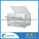 Envase de la jaula del almacenaje del acoplamiento de alambre de metal de la alta capacidad
