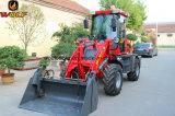 Novo tipo 2017 carregador da parte frontal de 1600kg para o equipamento de exploração agrícola